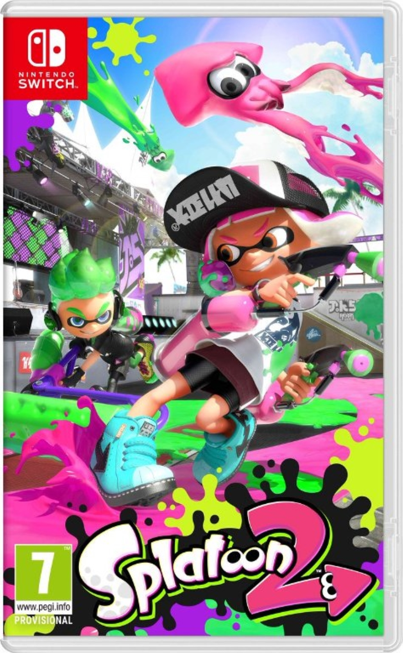 NINTENDO GAME NINTENDO SWITCH SPLATOON 2 ITA