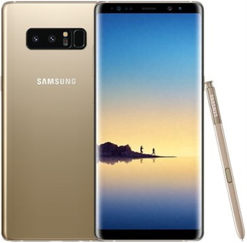 SAMSUNG SMARTPHONE SAMSUNG GALAXY NOTE 8 DISPLAY 6.3 OCTACORE RAM GOLD