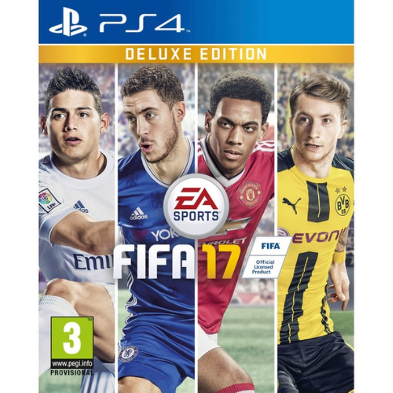 ELECTRONIC ARTS GAME FIFA 17 PS4 DELUXEEDITION