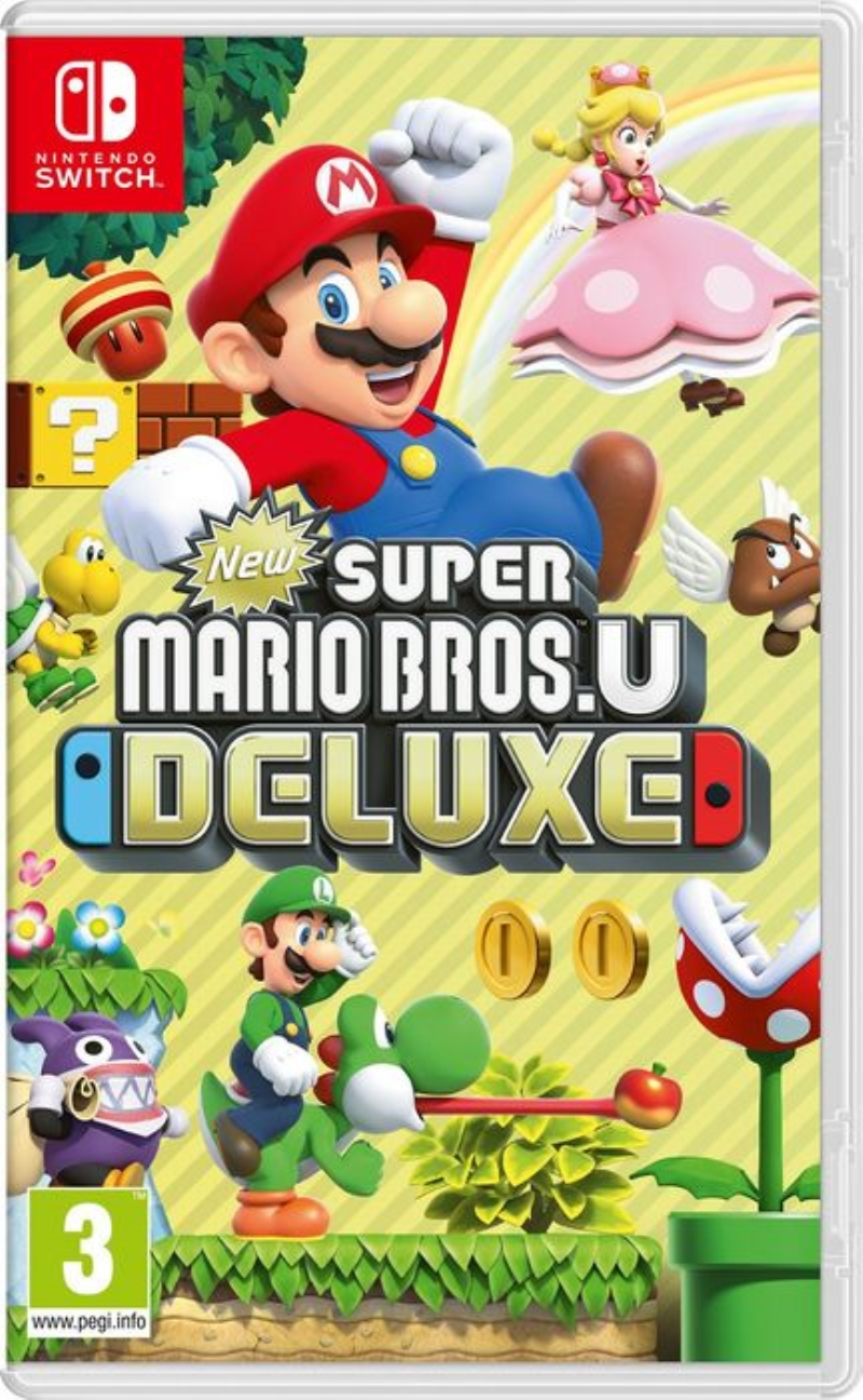 NINTENDO GAME NINTENDO SWITCH NEW SUPER MARIO BROS U DELUXE
