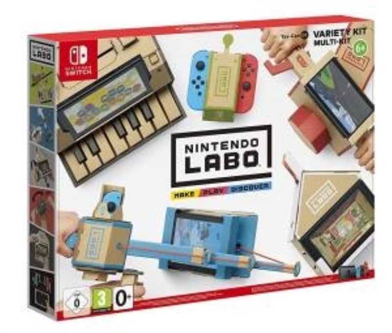 NINTENDO GAME NINTENDO SWITCH LABO KIT ASSORTITO TOY CON 1