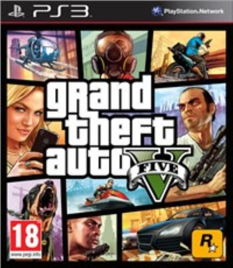 TAKE TWO INTERACTIVE PS3 GTA V