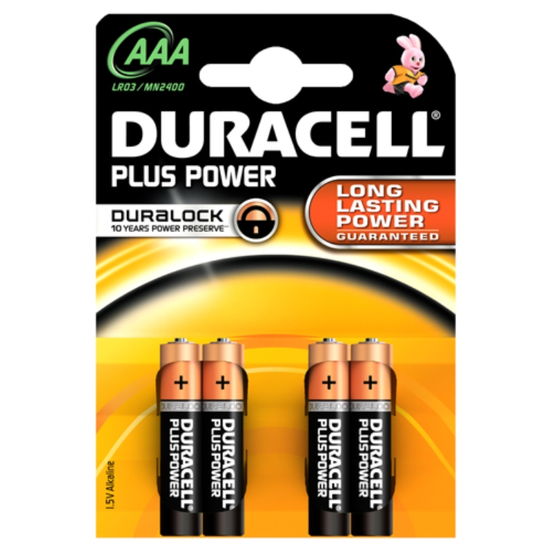 DURACELL DURACELL PLUS POWER AAALR03/MN2400