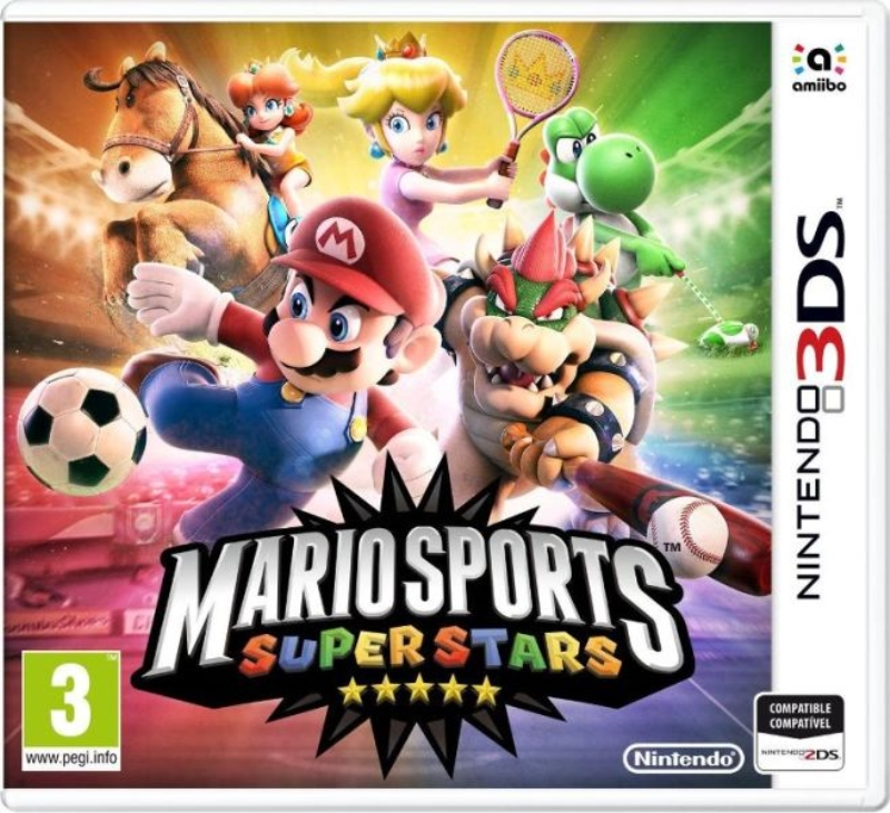 NINTENDO GAME NINTENDO 3DS MARIO SPORTS SUPERSTARS SENZA CARTA AMIIBO