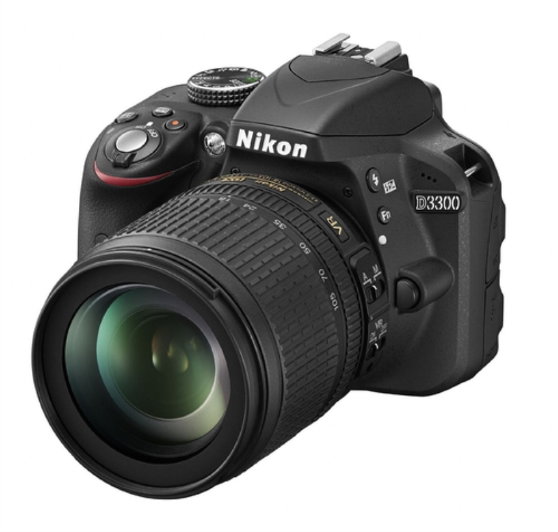NIKON REFLEX CMOS 24.2MP FHD + 18 105 VR + SD8GB
