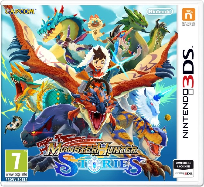 NINTENDO GAME NINTENDO 3DS MONSTER HUNTER STORIES