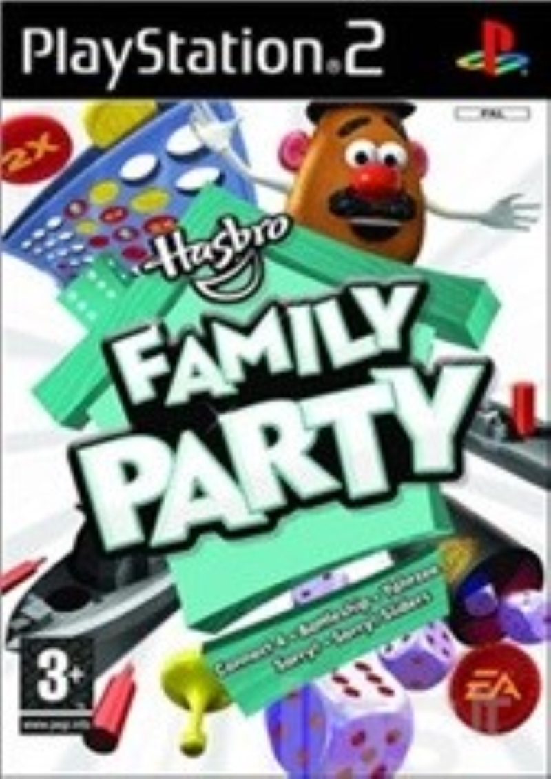 ELECTRONIC ARTS GAME PS2 HASBRO FAMILY PARTY