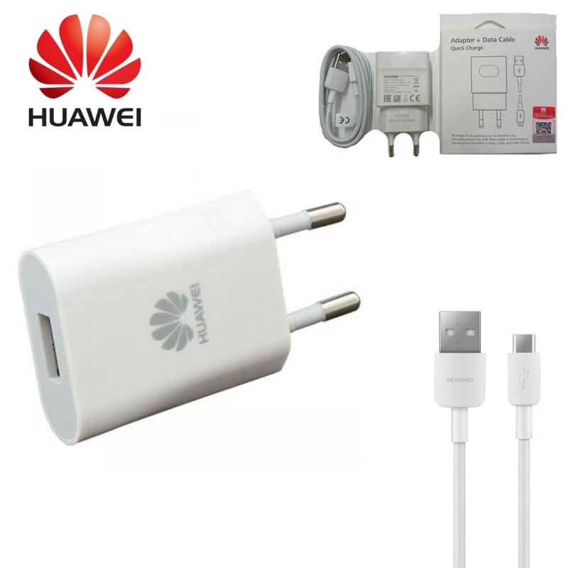 HUAWEI ADAPTER 9V2A WITH DATA CABLE