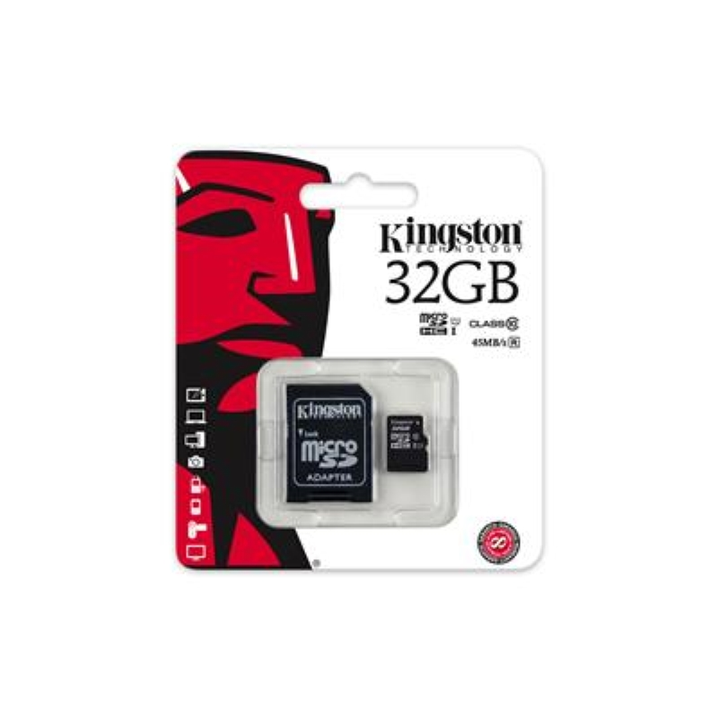 KINGSTON MEMORIA KINGSTON MICRO SDHC 32GB CLASS10 SDC10G2/32GB