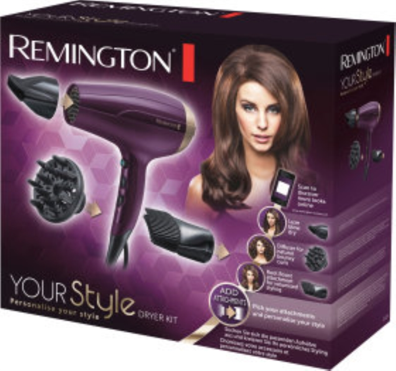 REMINGTON ASCIUGACAPELLI REMINGTON YOUR STYLE