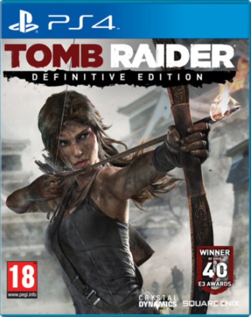 ELECTRONIC ARTS GAME SONY PS4 TOMB RAIDER DEFINITIVE EDITION